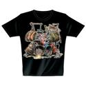 T-Shirt Drum Pig XL