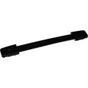 Amp handle, black, black caps
