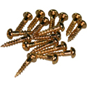Tuner Screws M-GLD-16pcs