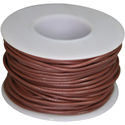 Wire, 0,35mm, brown, 15m