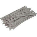 Pre-cut Wire 0,5mm, white, 7,5cm, 100pcs