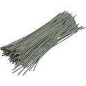 Pre-cut Wire 0,5mm, white, 10cm, 100pcs