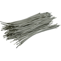 Pre-Cut-Stripped Wire 0,5mm, white, 7,5cm, 100pcs
