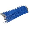 Pre-Cut-Stripped Wire 0,5mm, blue, 10cm, 100pcs
