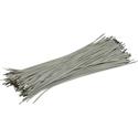 Pre-Cut-Stripped Wire 0,5mm, white, 12,5cm, 100pcs