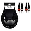 Alpha Audio Twin cable 2RCA-2RCA-1,5m