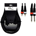 Alpha Audio Twin cable 2MO-2RCA-6m