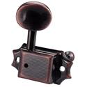 Schaller Machine Head ST6B 3 left/ 3 right. Vintage Copper