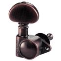 Schaller Machine Head M6 Vintage 6 left. Ruthenium
