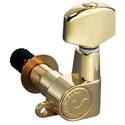 Schaller Machine Head M6 Top-locking 6 left Gold
