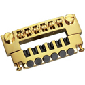 Schaller Guitar bridge 456 Piezo Gold