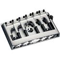 Schaller Guitar bridge 3D-6 Piezo Chrome