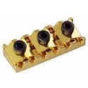 Schaller Tremolo locking nut. R5 Gold
