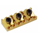 Schaller Tremolo locking nut. R6 Gold
