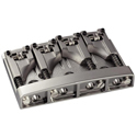 Schaller Bass bridge 3D-4 4-string. Satin Pearl