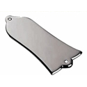 Schaller Truss rod cover. Smooth Satin Pearl