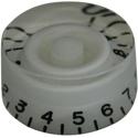 Speed knob Speedy-WHT