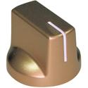 Gold pointer knob White Index