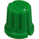 Ribbed knob Ribby-16-Green